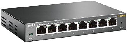 TP-Link TL-SG108E 8-Port Gigabit Easy Smart Switch (Plug&Play, G