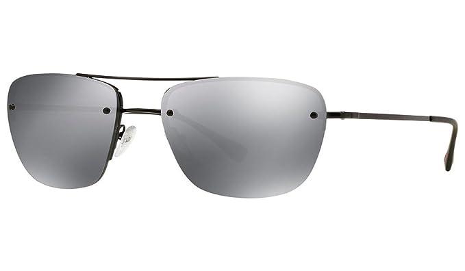 6c2e284df7a43 PRADA SPORT Men's Mod. 52RS 7AX5L056 (56 Mm) Sunglasses, Black ...