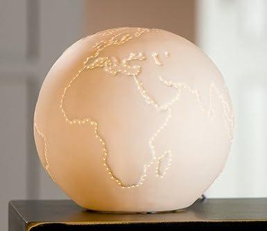 lampe globus d 32cm 230v tischlampe 3 helligkeitsstufen smash. Black Bedroom Furniture Sets. Home Design Ideas