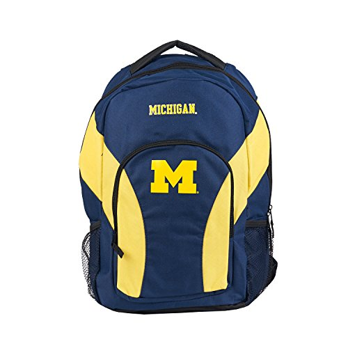 Officially Licensed NCAA Michigan Wolverines Draftday Backpack