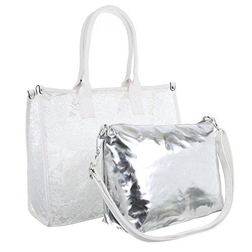 Ital-DesignTragetasche bei Ital-Design - bolso Mujer Blanco - blanco