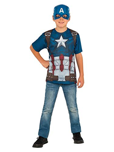 Rubie's Costume Captain America: Civil War Child Top and Mask, Large