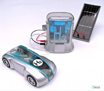 H-racer and Hydrogen station (includes solar panel)