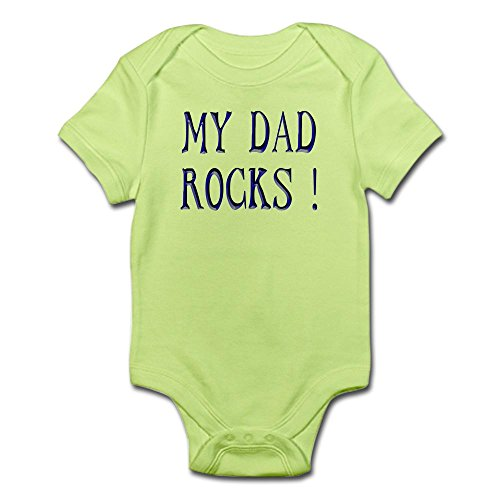 Dad Rocks Infant Creeper - 5