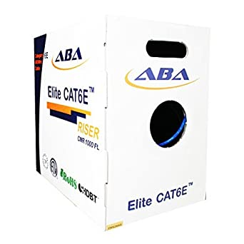 TE Connectivity//AMP Communication Cable 4//23 CAT6E TE630R 1000 ft per box
