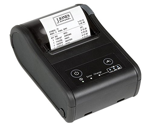 Epson TM-P60II Direct Thermal Printer - Monochrome - Handheld - Receipt Print - 3.94 in/s Mono - 203 x 203 dpi - Wireless LAN - USB - Battery Included - - Ticket Epson