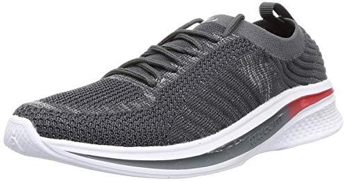 ACTION Women Atl-81-Grey-Silver_6 Grey Trekking Shoes-6 UK (ATL-81-GREY-SILVER)