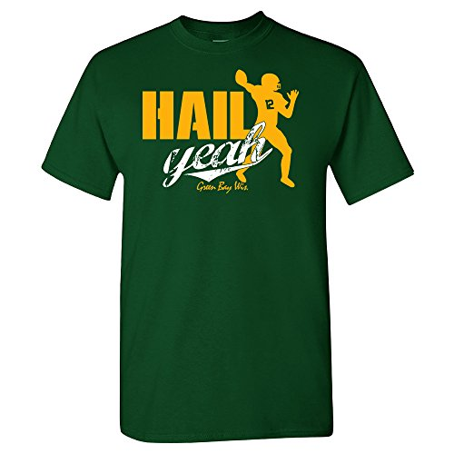 Xtreme Wisconsin Bay Rodgers Hail Yeah Shirt (S)