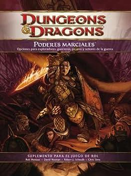 Dungeons & Dragons - Poderes Marciales, Juego de rol (Devir 934740 ...