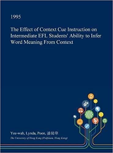 The Effect of Context Cue Instruction on Intermediate Efl