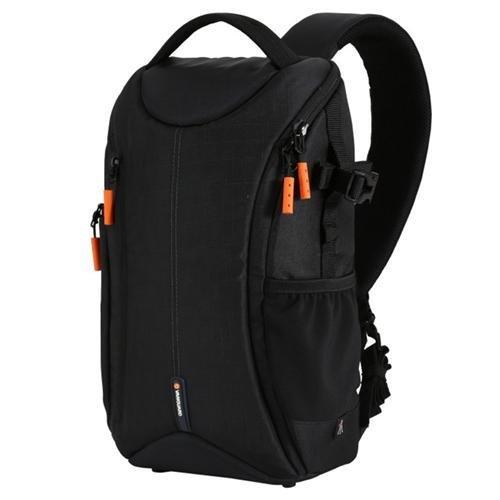 Vanguard OSLO 47BK Sling Bag - BLACK - Wear as Sling Bag or Backpack by Vanguard