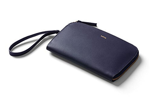 Bellroy Women's Leather Clutch - Navy by Bellroy