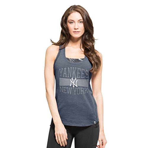 MLB New York Yankees Women's '47 High Point Tank Top, Large, Shift (New York Womens Tank Top)