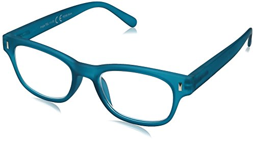 Foster Grant Women's Angie Teal 1017879-150.COM Reading Glasses, Teal, 1.5 (Glass Teal)