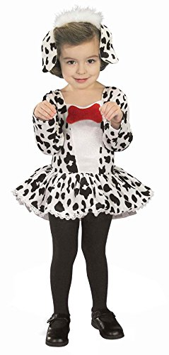 Forum Novelties Baby Girls Dalmatian Costume Toddler Size 2-4 (Dalmatian Costumes For Toddlers)