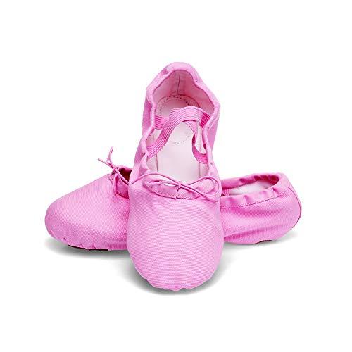 Per Pantofole Triworiae Da Rosa Scarpe Classica balletto Ginnastica Scarpette Ballo Danza xqqwAPTXY6