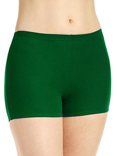 Bodywrappers Adults Boy-Cut Athletic Briefs, Forest Green, Large ()
