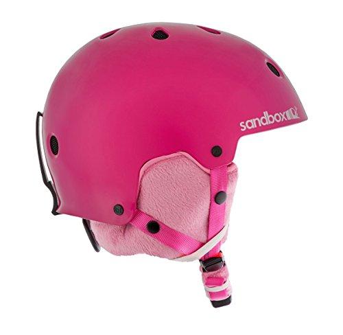 Caja de arena niños Legend Ace Snowboard Casco, color rosa brillante