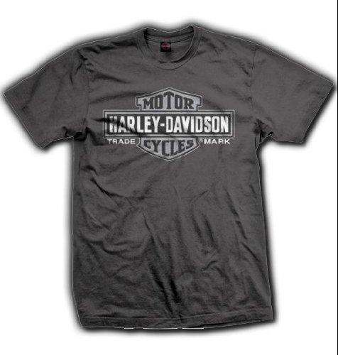 The House Milwaukee Men's Bar & Shield Logo T-Shirt, Grey. 302905950