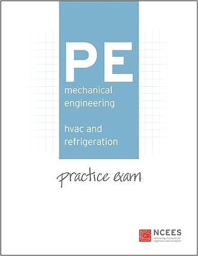 PE Mechanical Engineering: HVAC and Refrigeration Practice Exam ...