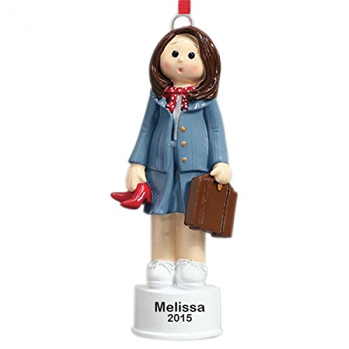 Business Woman Personalized Christmas Tree (Business Ornament)