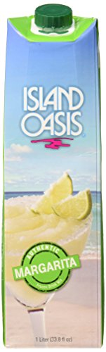Island Oasis SB3X Premium Margarita Drink Mix, 1 Liter Bottle