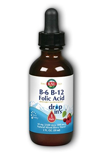 B 12 Folic Dropins Kal Liquid product image