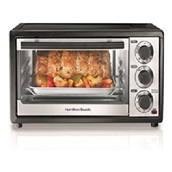 Amazon Com Hamilton Beach 31508 Six Slice Toaster Oven