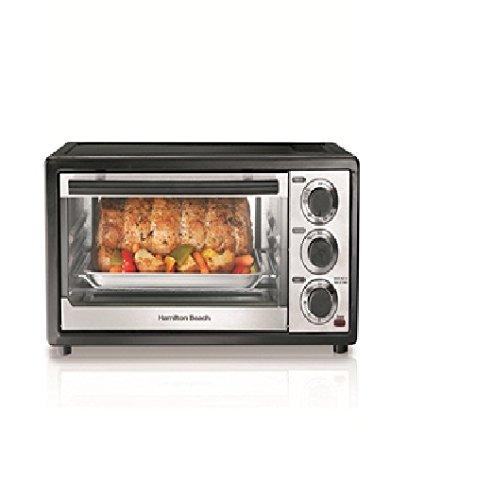 Hamilton Beach 31508 Six Slice Toaster Oven - Toast Broil Bake (Toast Broil Bake Oven compare prices)