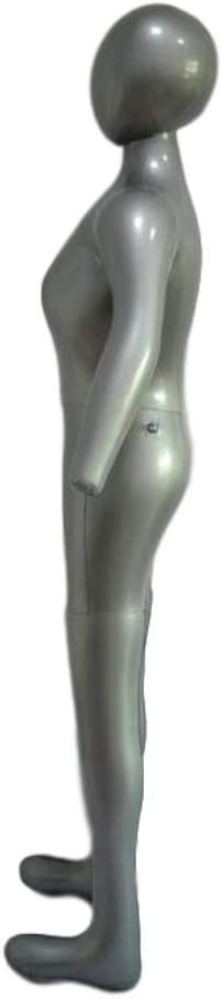 Lopbinte Modelo Femenino Inflable de Cuerpo Completo con Brazo Accesorios de Visualizaci/óN de Ventana de Maniqu/í de Damas