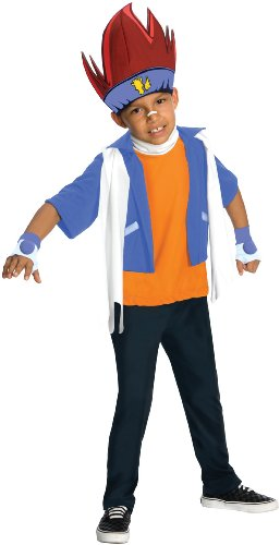 [Rubies Costumes Beyblade - Gingka Hagane Child Costume Blue/Orange Small] (Beyblade Halloween Costumes)