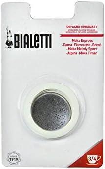 Bialetti EXF030100 - Filtro y goma de recambio para modelo Dama de ...