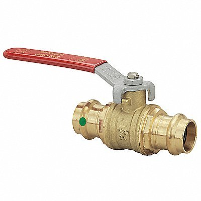 - Viega 1/2'' ProPress Bronze Ball Valve - Leaded #24000
