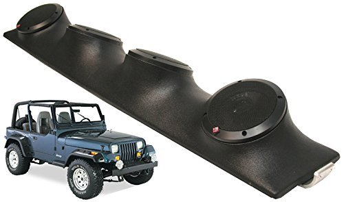 Jeep Wrangler Rockford R152 Car Audio Powered Speakers Loaded Sound Bar System