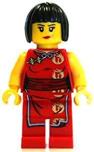 Amazon.com: LEGO Ninjago Minifigure - Nya Female Red Ninja: Toys