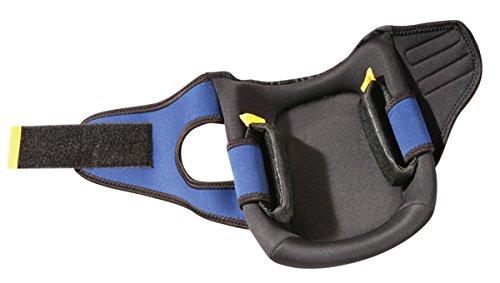 1EA-Premium Flat Cap Gel Pads ONE PAIR Black Hard PE Cap