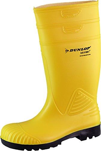 Potthoff - Calzado de protección de goma para hombre amarillo - amarillo