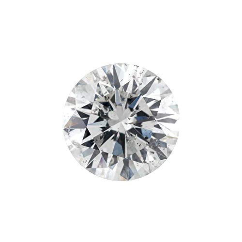 0.11 ct Round Brilliant Cut 3.00 mm G I2 Loose Diamond Natural Earth-mined