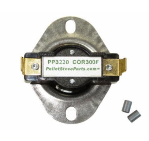 PelletStovePro - Breckwell Pellet & Gas High Limit Switch Disc 300 - CE-E-090-21 ()