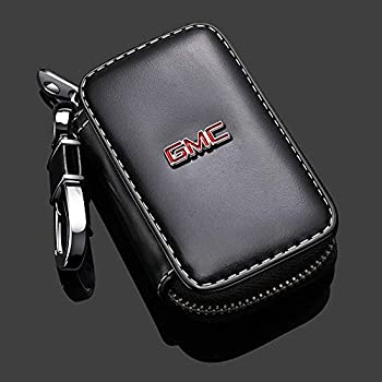 Amazon.com: Buffway Car Key case,Genuine Leather Car Smart ...
