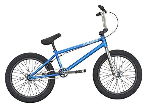 "DK Bikes DK Cygnus 20"" Complete BMX Bike Trans Blue"