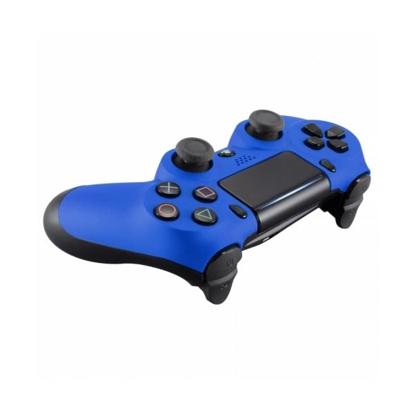 OC Gaming PS4 Dualshock Playstation 4 Wireless Controller Custom Soft Touch New Model (Blue) 3