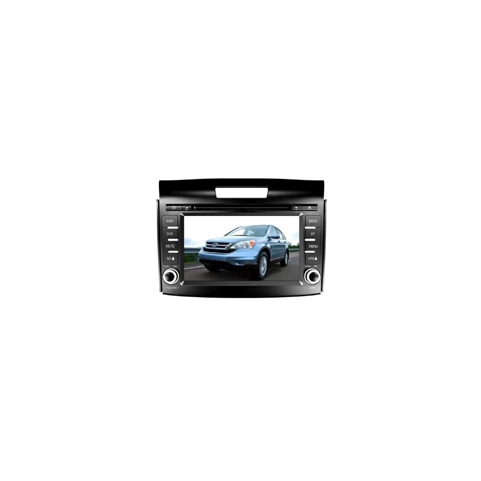 Eagle for 2012 2013 Honda CRV Car GPS Navigation DVD Player Audio Video System with Radio (AM/FM),Bluetooth Hands Free,USB, AUX Input,(free Map),Plug & Play Installation