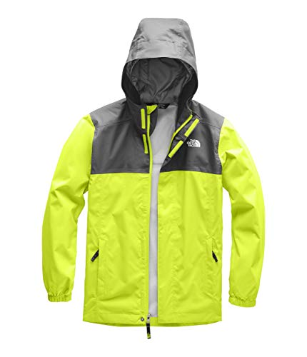 The North Face Kids Boy's Resolve Reflective Jacket (Little Kids/Big Kids) Lime Green -