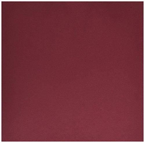 Carta Bella Paper Company CBDC1501 Burgundy Linen Cardstock 80 lb Cover