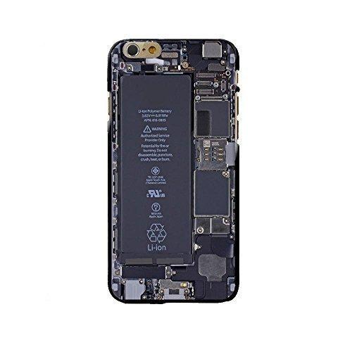 FINOO ®   Handyhülle Transparent TPU Silikon Iphone 6/6S Prozessor