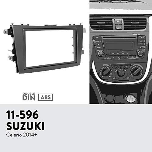 UGAR 11-596 Trim Fascia Car Radio Installation Mounting Kit for Suzuki Celerio 2014+