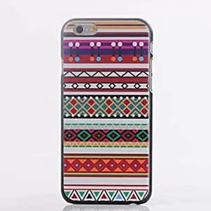 MOM Ethnic Wind Pattern Plastic Cover for iPhone 6 Plus