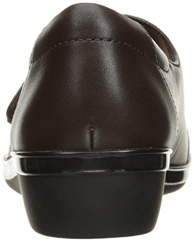 US Women's Kennon Everlay Clarks 6 Jane Mary Flat Brown Leather W gOSUwx
