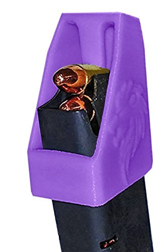 DOUBLE STACK Magazine loader RAE-701 for many calibers of Pistol Magazines including 32 auto, 9mm Luger, 22TCM, .357 SIG, .380 ACP, 10mm Auto, .40 S&W, .45GAP .45 ACP MADE IN THE USA (Purple1) (Taurus Gun Parts)